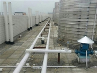 Air to water systems ppr pipe insulation